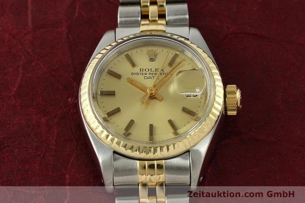 Used luxury watch Rolex Lady Date steel / gold automatic Kal. 2030 Ref. 6917  | 141351 16