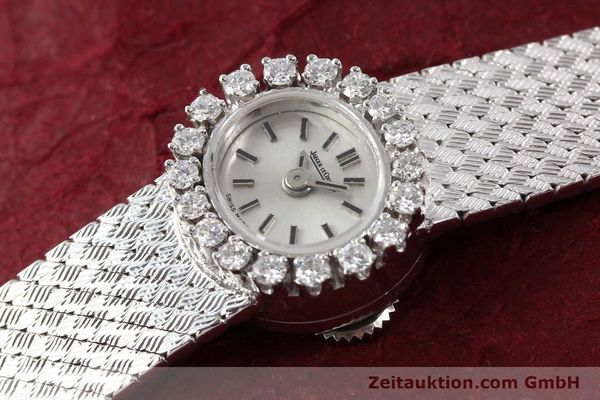 Used luxury watch Jaeger Le Coultre * 18 ct white gold manual winding  | 141354 01