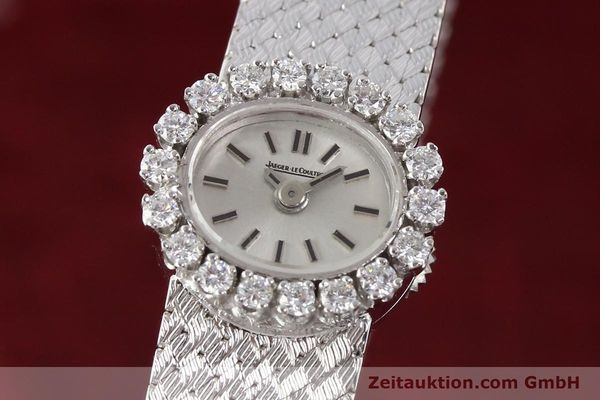 Used luxury watch Jaeger Le Coultre * 18 ct white gold manual winding  | 141354 04