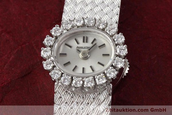 Used luxury watch Jaeger Le Coultre * 18 ct white gold manual winding  | 141354 15
