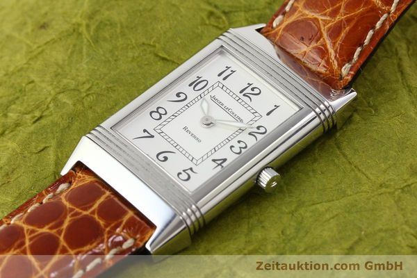Used luxury watch Jaeger Le Coultre Reverso steel manual winding Ref. 250.8.86  | 141356 01