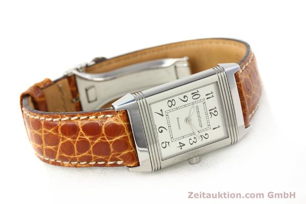 Used luxury watch Jaeger Le Coultre Reverso steel manual winding Ref. 250.8.86  | 141356 03