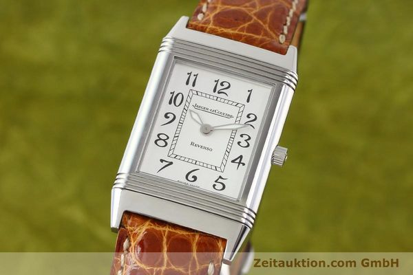 Used luxury watch Jaeger Le Coultre Reverso steel manual winding Ref. 250.8.86  | 141356 04