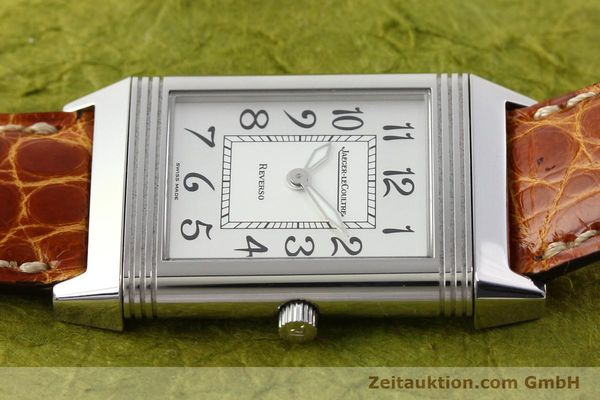 Used luxury watch Jaeger Le Coultre Reverso steel manual winding Ref. 250.8.86  | 141356 05