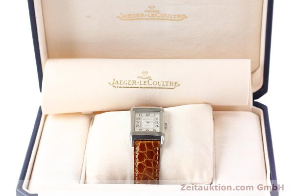 Used luxury watch Jaeger Le Coultre Reverso steel manual winding Ref. 250.8.86  | 141356 07