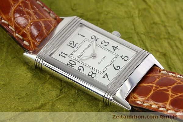 Used luxury watch Jaeger Le Coultre Reverso steel manual winding Ref. 250.8.86  | 141356 16