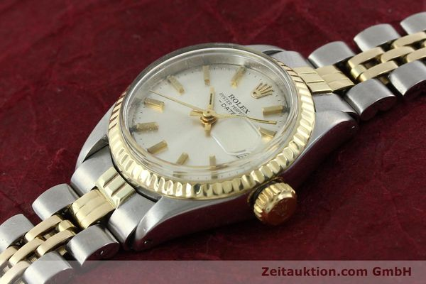 Used luxury watch Rolex Lady Date steel / gold automatic Kal. 2030 Ref. 6917  | 141357 01