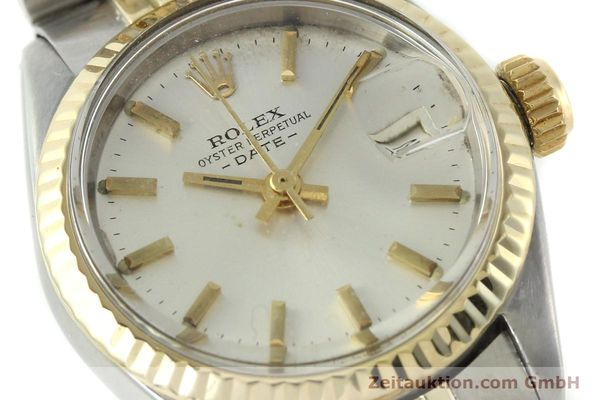 Used luxury watch Rolex Lady Date steel / gold automatic Kal. 2030 Ref. 6917  | 141357 02