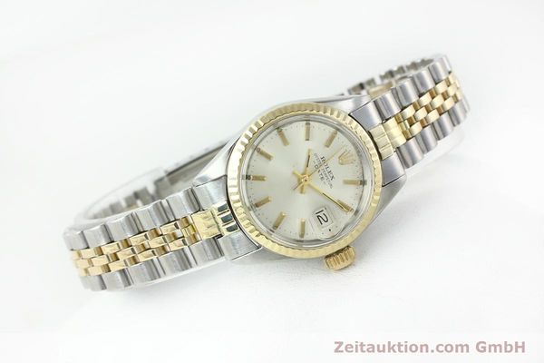 Used luxury watch Rolex Lady Date steel / gold automatic Kal. 2030 Ref. 6917  | 141357 03