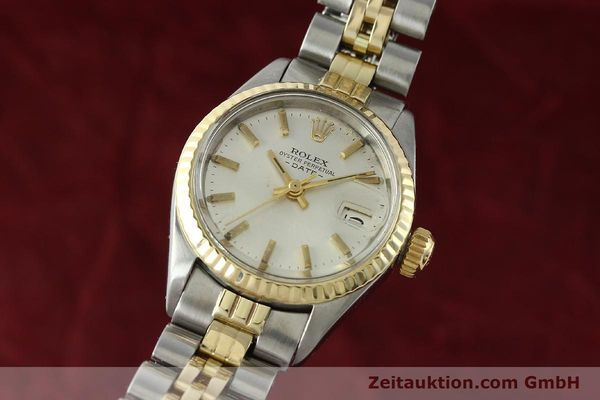 Used luxury watch Rolex Lady Date steel / gold automatic Kal. 2030 Ref. 6917  | 141357 04