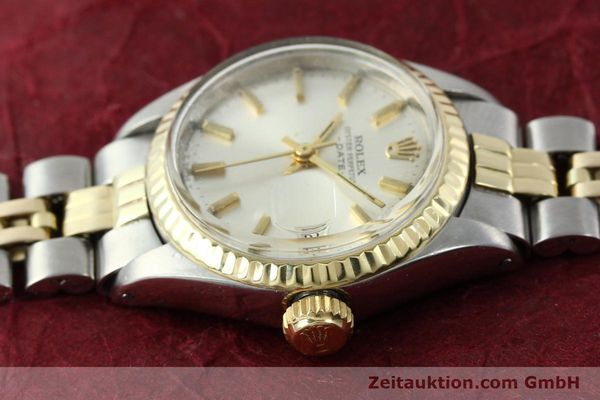 Used luxury watch Rolex Lady Date steel / gold automatic Kal. 2030 Ref. 6917  | 141357 05