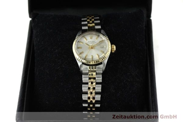Used luxury watch Rolex Lady Date steel / gold automatic Kal. 2030 Ref. 6917  | 141357 07