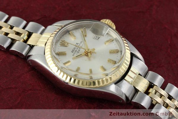 Used luxury watch Rolex Lady Date steel / gold automatic Kal. 2030 Ref. 6917  | 141357 14