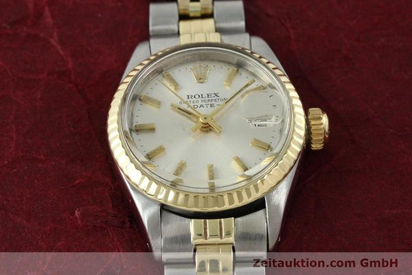 Used luxury watch Rolex Lady Date steel / gold automatic Kal. 2030 Ref. 6917  | 141357 15