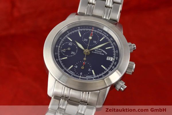 Used luxury watch Mühle Sport Chronograph steel automatic Ref. M12300  | 141358 04