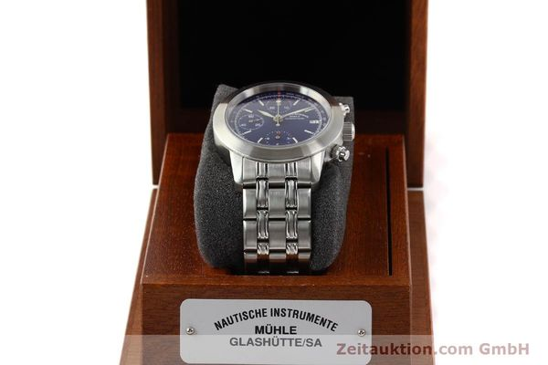 Used luxury watch Mühle Sport Chronograph steel automatic Ref. M12300  | 141358 07
