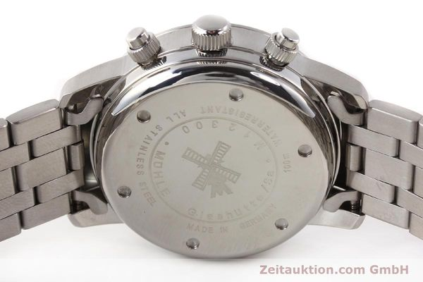 Used luxury watch Mühle Sport Chronograph steel automatic Ref. M12300  | 141358 09