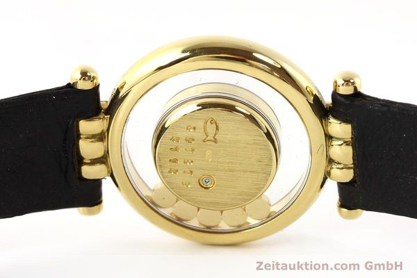 gebrauchte Luxusuhr Chopard Happy Diamonds 18k Gold Quarz Ref. 4114  | 141359 08