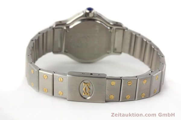 Used luxury watch Cartier Santos steel / gold quartz  | 141360 10