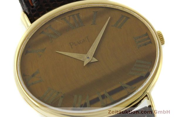 Used luxury watch Piaget * 18 ct gold manual winding Kal. 9P Ref. 9872  | 141362 02