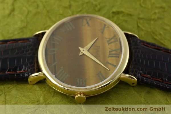 Used luxury watch Piaget * 18 ct gold manual winding Kal. 9P Ref. 9872  | 141362 05