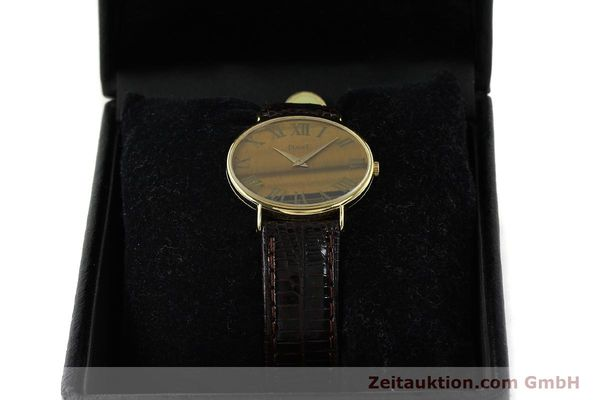 Used luxury watch Piaget * 18 ct gold manual winding Kal. 9P Ref. 9872  | 141362 07
