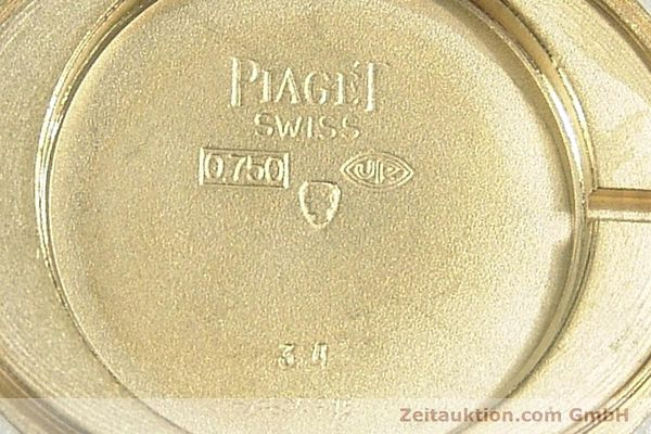 Used luxury watch Piaget * 18 ct gold manual winding Kal. 9P Ref. 9872  | 141362 09