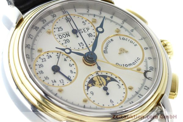 Used luxury watch Maurice Lacroix Kalender steel / gold automatic Kal. ETA 7750 Ref. 66412  | 141364 02
