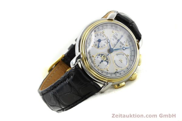 Used luxury watch Maurice Lacroix Kalender steel / gold automatic Kal. ETA 7750 Ref. 66412  | 141364 03