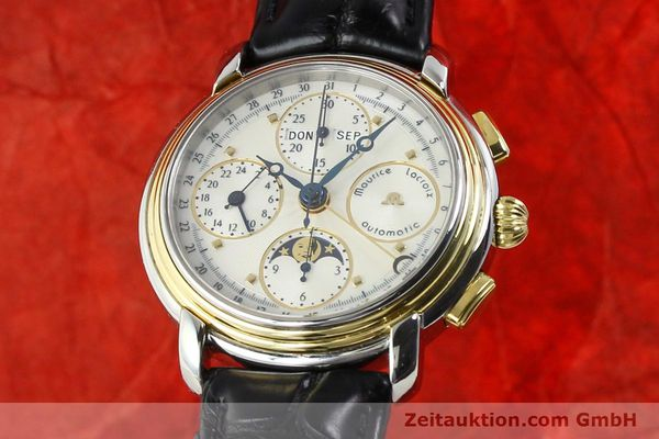 Used luxury watch Maurice Lacroix Kalender steel / gold automatic Kal. ETA 7750 Ref. 66412  | 141364 04