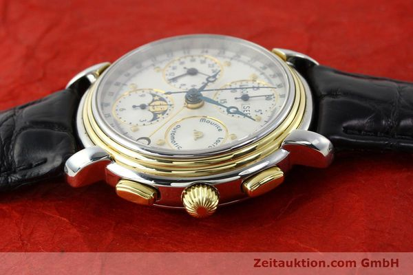 Used luxury watch Maurice Lacroix Kalender steel / gold automatic Kal. ETA 7750 Ref. 66412  | 141364 05