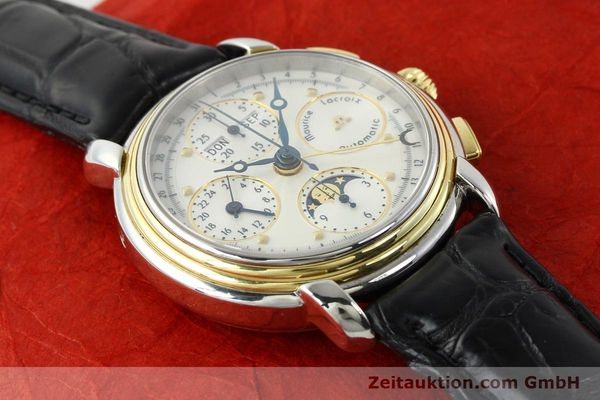 Used luxury watch Maurice Lacroix Kalender steel / gold automatic Kal. ETA 7750 Ref. 66412  | 141364 14