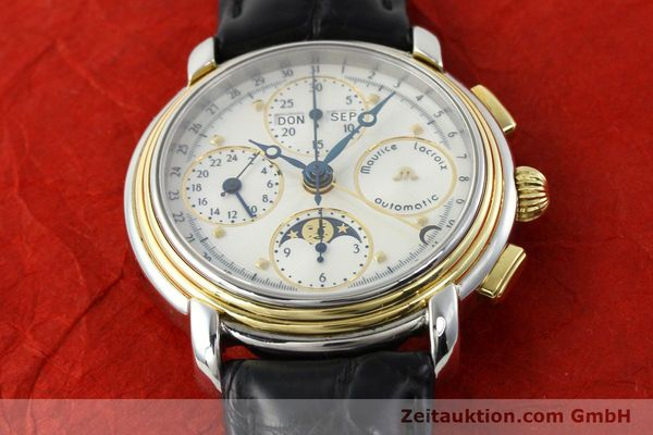 Used luxury watch Maurice Lacroix Kalender steel / gold automatic Kal. ETA 7750 Ref. 66412  | 141364 15