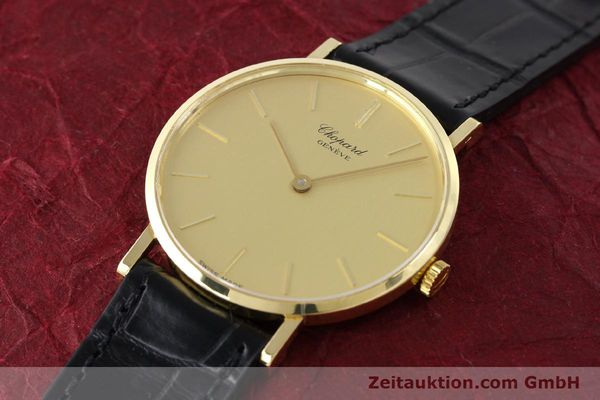 Used luxury watch Chopard * 18 ct gold manual winding Kal. Peseux 7001 Ref. 1013  | 141366 01