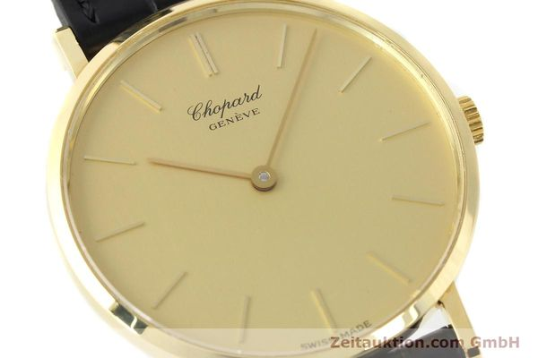 Used luxury watch Chopard * 18 ct gold manual winding Kal. Peseux 7001 Ref. 1013  | 141366 02