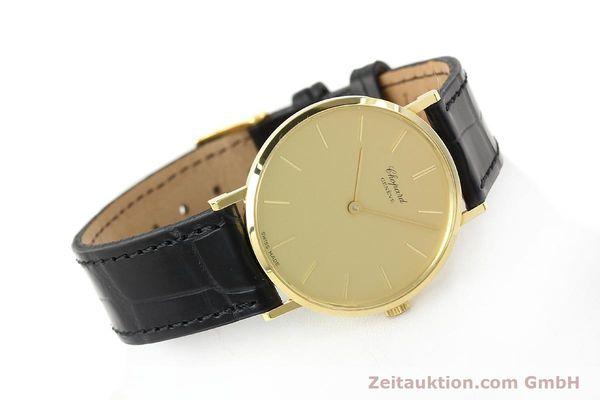 Used luxury watch Chopard * 18 ct gold manual winding Kal. Peseux 7001 Ref. 1013  | 141366 03