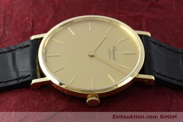Used luxury watch Chopard * 18 ct gold manual winding Kal. Peseux 7001 Ref. 1013  | 141366 05