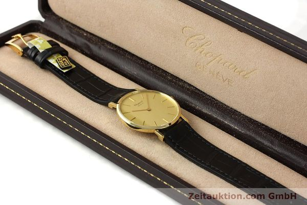 Used luxury watch Chopard * 18 ct gold manual winding Kal. Peseux 7001 Ref. 1013  | 141366 07