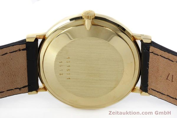 Used luxury watch Chopard * 18 ct gold manual winding Kal. Peseux 7001 Ref. 1013  | 141366 09