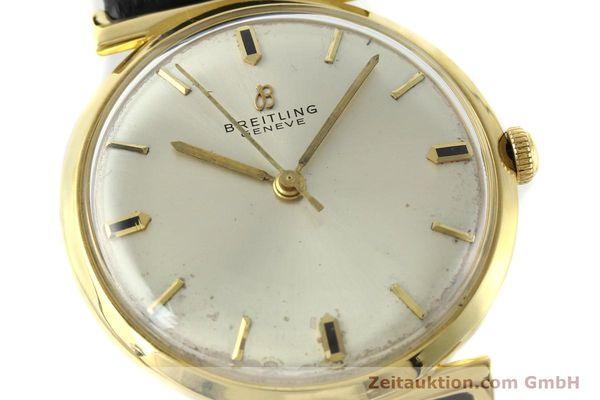 Used luxury watch Breitling * 18 ct gold automatic Kal. Felsa 4000N Ref. 2521  | 141377 02