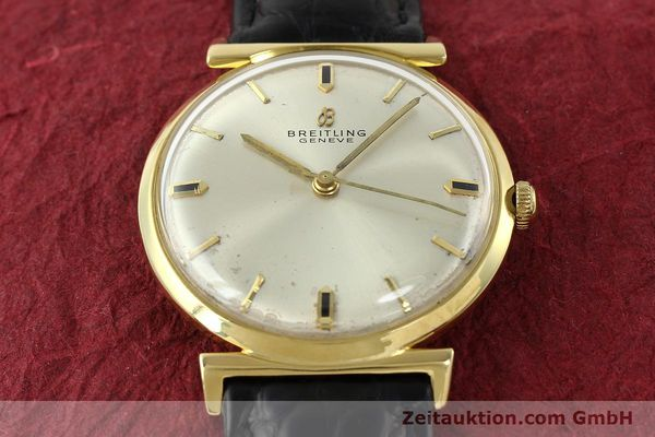 Used luxury watch Breitling * 18 ct gold automatic Kal. Felsa 4000N Ref. 2521  | 141377 14