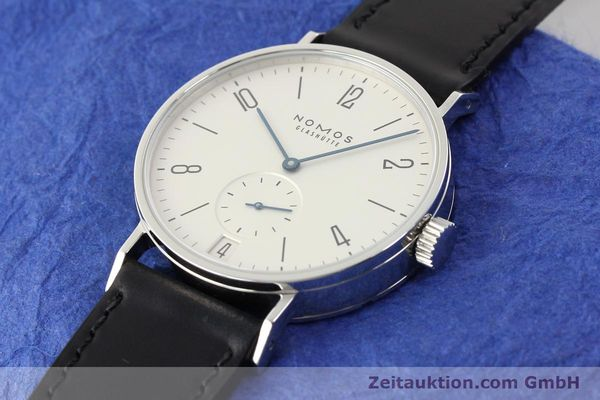 Used luxury watch Nomos Tangomat steel automatic Kal. Zeta  | 141378 01