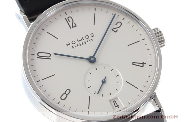Used luxury watch Nomos Tangomat steel automatic Kal. Zeta  | 141378 02