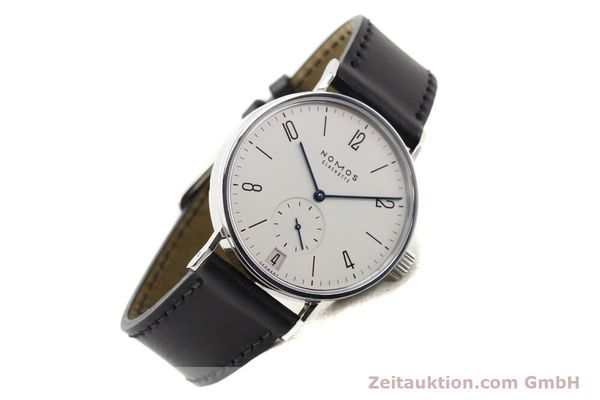 Used luxury watch Nomos Tangomat steel automatic Kal. Zeta  | 141378 03