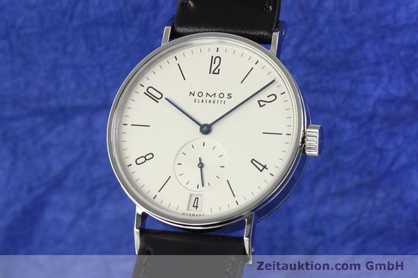 Used luxury watch Nomos Tangomat steel automatic Kal. Zeta  | 141378 04