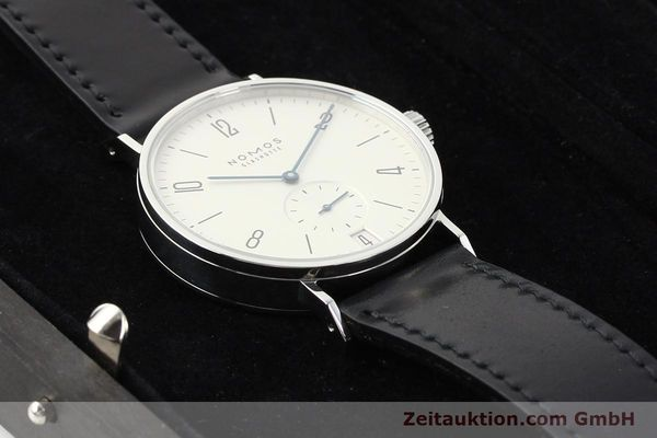 Used luxury watch Nomos Tangomat steel automatic Kal. Zeta  | 141378 07