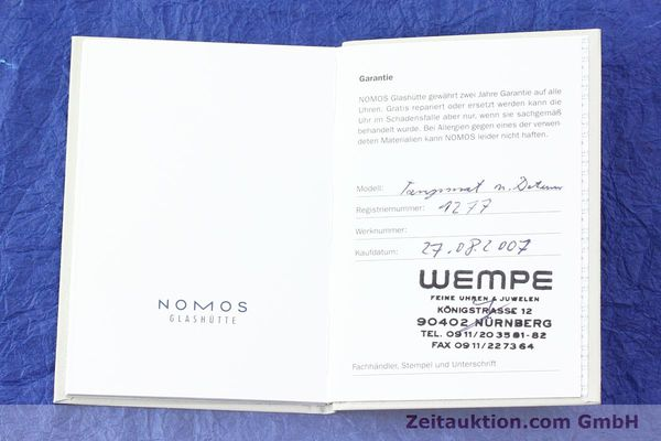Used luxury watch Nomos Tangomat steel automatic Kal. Zeta  | 141378 08