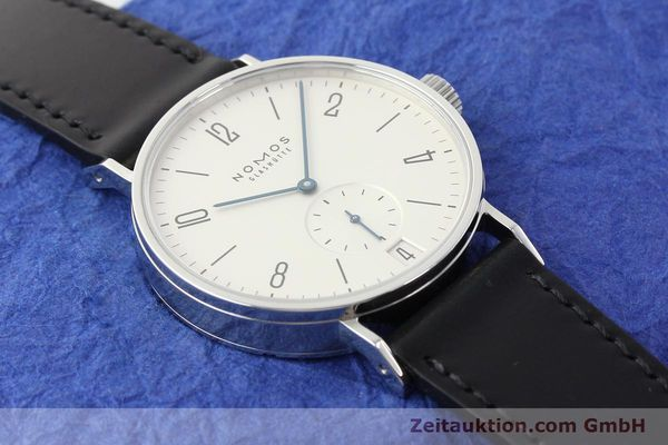 Used luxury watch Nomos Tangomat steel automatic Kal. Zeta  | 141378 15