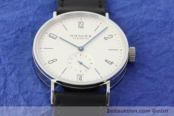 Used luxury watch Nomos Tangomat steel automatic Kal. Zeta  | 141378 16