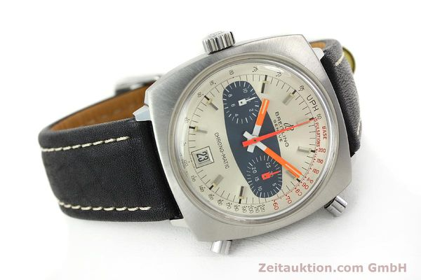 gebrauchte Luxusuhr Breitling Chrono-Matic Chronograph Stahl Automatik Kal. 11 Ref. 2111  | 141379 03